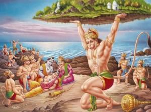 Hanuman Mountain